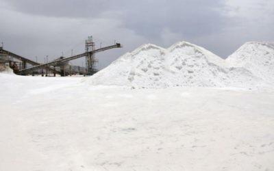 Un site d'extraction de sel près d'Eilat ( Crédit : autorisation)