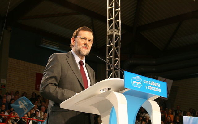 Mariano Rajoy (Crédit : Partido Popular de Cataluña/Wikimedia commons/CC BY SA2.0)
