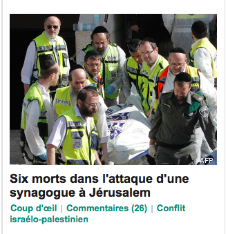 Capture d'écran de la page d'accueil du Huffington Post