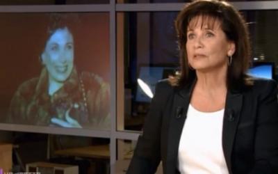 Capture d'écran Anne Sinclair (Crédit : Dailymotion)