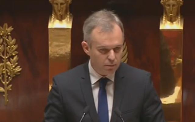 Capture d'écran François de Rugy (Crédit : LCP)