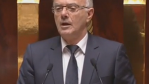 Capture d'écran François Asensi (Crédit : LCP)
