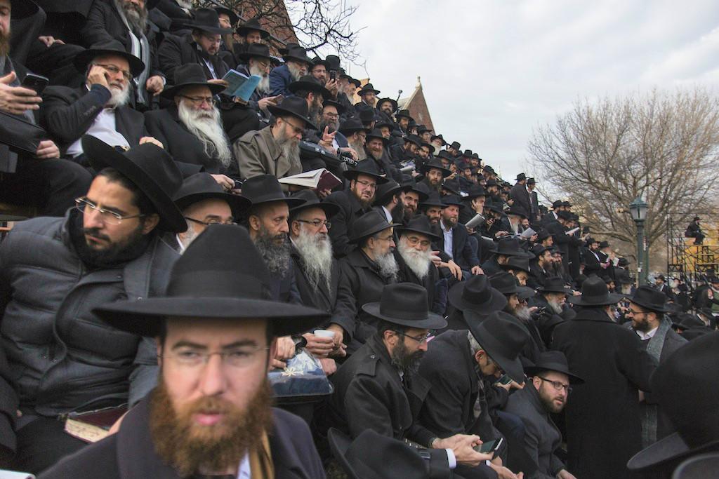Chabad shlichim venu du monde entier assister à la conférence annuelle (Crédit : Adam Ben Cohen/Chabad.org)