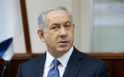 Le Premier ministre Benjamin Netanyahu (Crédit : Marc Israel Sellem/POOL/Flash90)