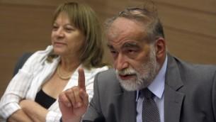Le député David Rotem (Crédit : Flash90)