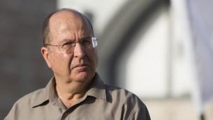 Le ministre de la Défense, Moshe Yaalon (Crédit : Yonathan Sindel/Flash90)