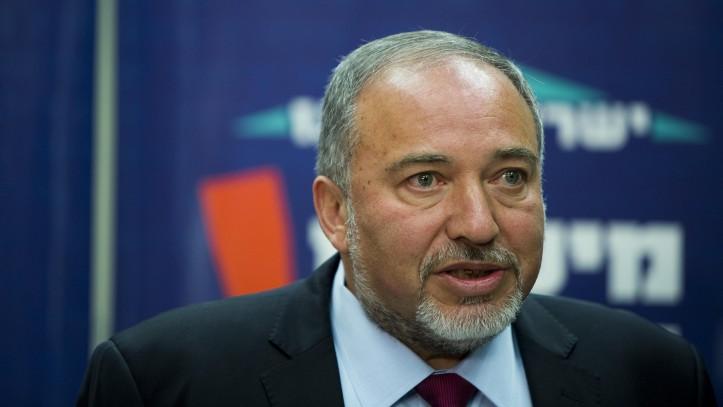 Le ministre des Affaires étrangères, Avidgor Liberman, le 10 novembre 2014 (Crédit :  Yonathan Sindel/Flash90)