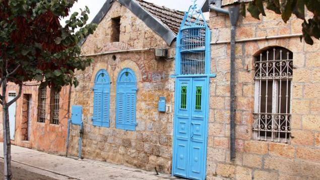 Le quartier de Zichron Tuvia (Crédit : Shmuel Bar-Am)