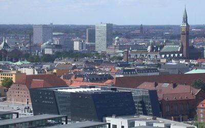 Vue de Copenhague, Danemark (Crédit : Paul Burani/Wikimédia Commons)
