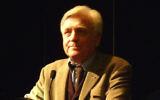 Elie Barnavi, Conférence de l'historien et diplomate israëlien Elie Barnavi au Salon du Livre Wizo (Strasbourg 2009) (Crédit : CC BY SA 3.0)