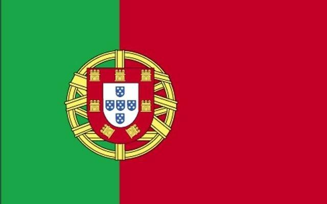 Le drapeau du Portugal (Crédit : domaine public)