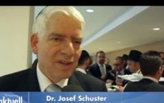 Josef Schuster (Crédit : capture d'écran tvtouring.de)