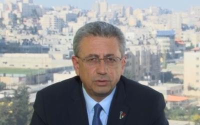 Mustafa Barghouti, le 19 novembre 2014. (Crédit : capture d'écran/BBC)