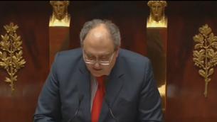 Capture d'écran Vice-président de la commission des affaires étrangères Paul Giacobbi (Crédit : LCP)