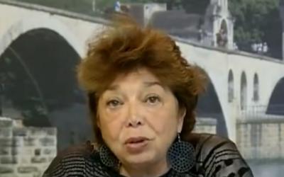 Capture d'écran Leila Shahid (Crédit : France 24)