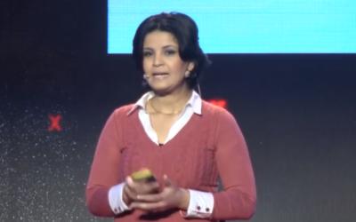 Capture d'écran Amal Ayoub (Crédit : YouTube TED)