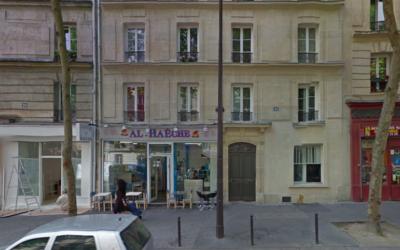 Capture d'écran de la façade du restaurant Al Haesh situé dan sel 19e arrondissement de Paris (Crédit : Google street view)