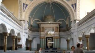 Choral Synagogue de Moscou (Crédit : Michal Shmulovich)