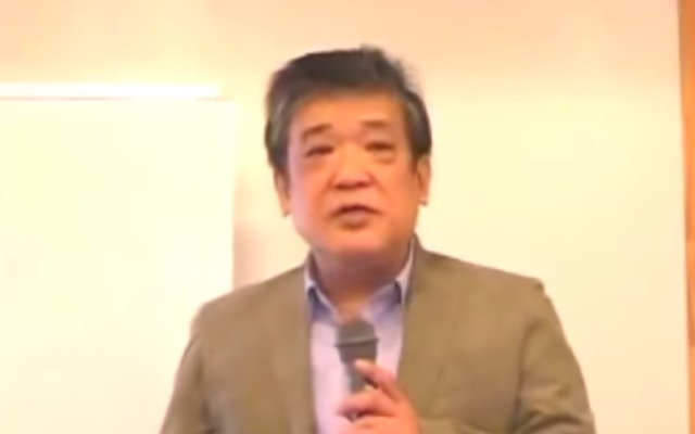 Richard Koshimizu (Crédit : YouTube)