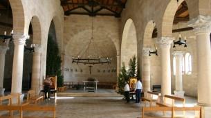Intérieur de l'église Tab'ha (crédit photo: Shmuel Bar-Am)
