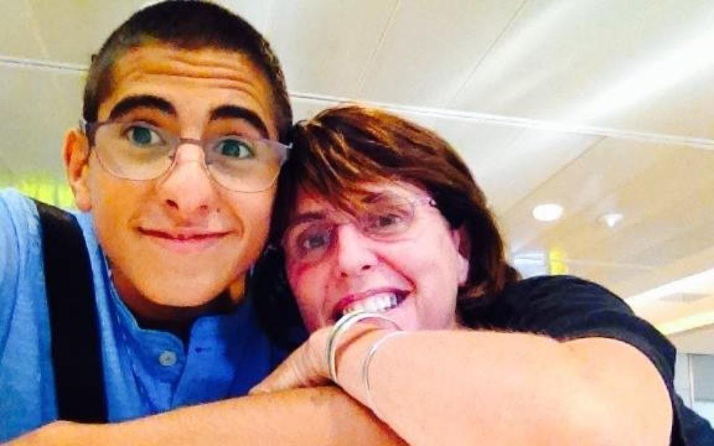 Mohammed Zoabi et Kay Wilson sont devenus des amis (Crédit : autorisation)
