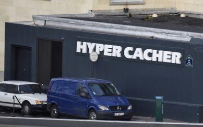 L'épicerie juive de Vincennes - 9 janvier 2015 (Crédit : AFP)