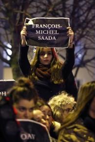 Rassemblement pour les victimes juives de Vincennes - 10 janvier 2015 (Crédit : AFP)