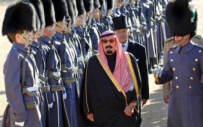 Le roi d'Arabie Saoudite, Abdallah ben Abdelaziz al-Saoud (Crédit :AFP)