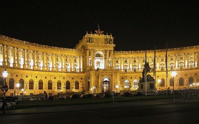 Hofburg, le palais impérial d'hiver à Vienne (Crédit : Wikimédia Commons/ Domaine publique/Alexander Umbricht)