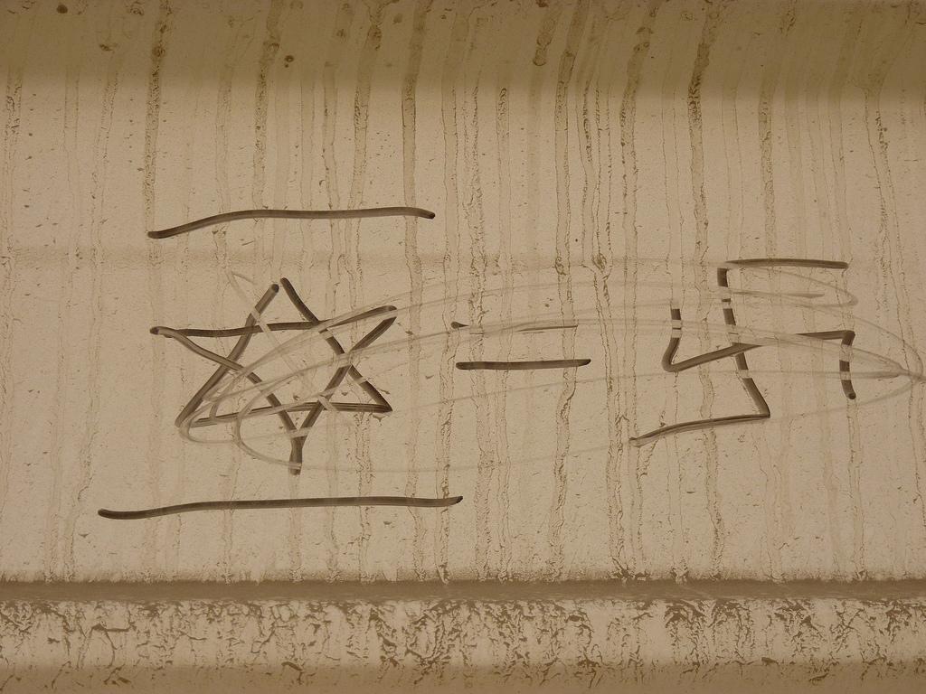 L'antisémitisme progresse dans le monde (Crédit : CC BY-SA Beny Shlevich/Flickr).