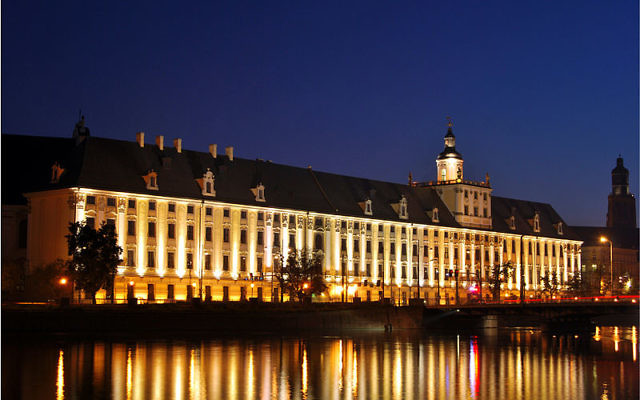 L'Université polonaise de Wroclaw (Crédit : JacobJ/Wikimediacommons/CC BY SA 3.0)