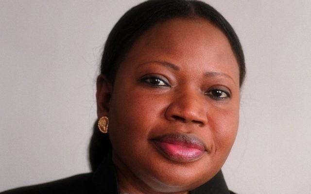 La procureure de la CPI Fatou Bensouda. (Crédit : CC BY-SA 3.0, Max Koot Studio/Wikimedia)