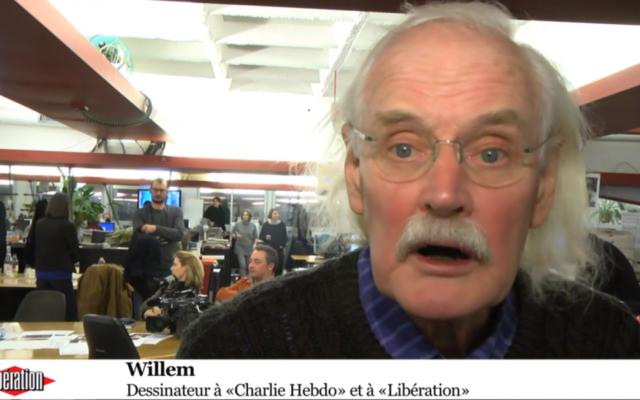 Capture d'écran Bernhard Willem Holtrop (cRÉDIT : liBÉRATION)