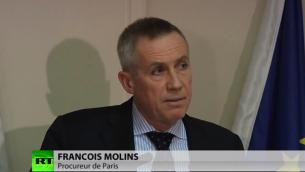 Capture d'écran  François Molins (Crédit : YouTube)