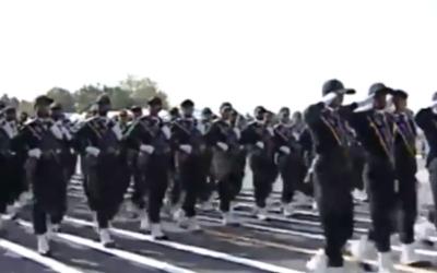 Capture d'écran des Gardiens de la Révolution iraniens (Crédit : PRESSTV)
