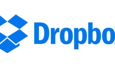 Logo de la société Dropbox (Crédit : Wikipedia)