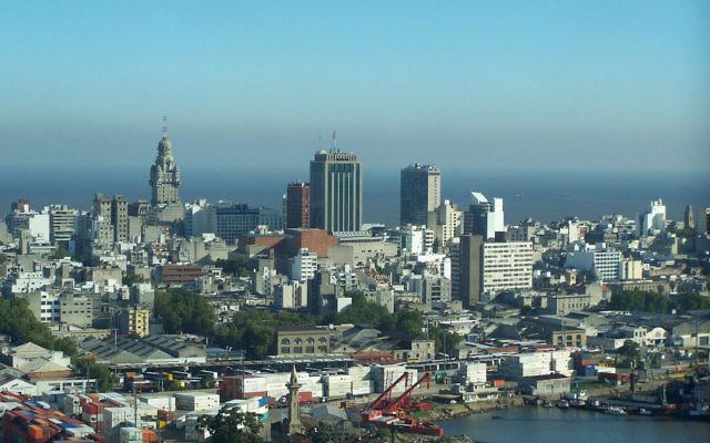 Vue sur Montevideo, Uruguay (Crédit : CC BY SA 2.0)