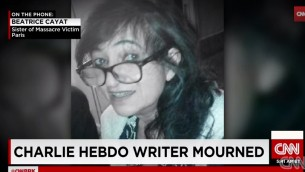 Elsa Cayat, chroniqueuse de Charlie Hebdo tuée lors de l'attaque (Crédit : Capture d'écran YouTube)
