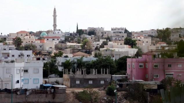 La ville bédouine de Rahat, dans le sud d'Israël, en octobre 2010. Illustration. (Crédit : Yossi Zamir/Flash90)