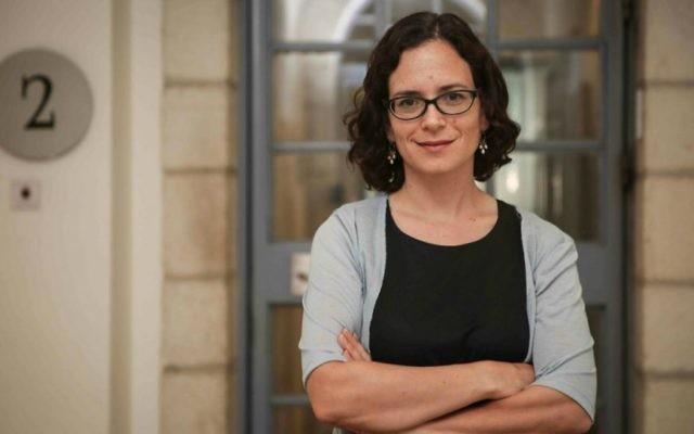 Rachel Azaria, députée de Koulanou. (Crédit : Hadas Parush/Flash90)