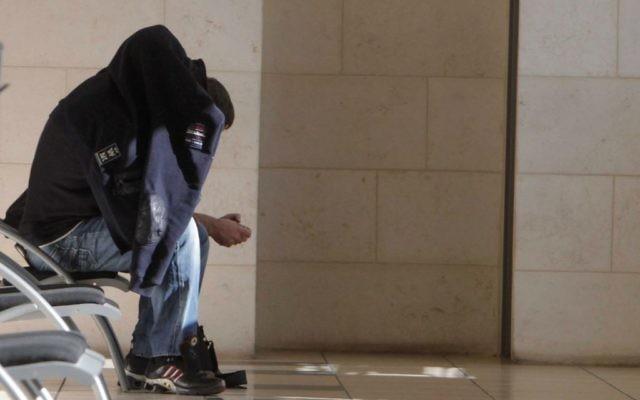 Des suspects dans l'affaire de corruption impliquant Yisrael Beytenu le 25 décembre 2014 (Crédit : Flash90)