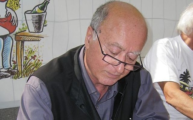 Georges Wolinski (Crédit : JTA)