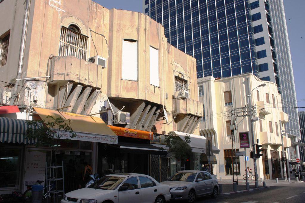 La maison construite par Mordecai Ben Hillel HaCohen (Crédit : Shmuel Bar-Am)