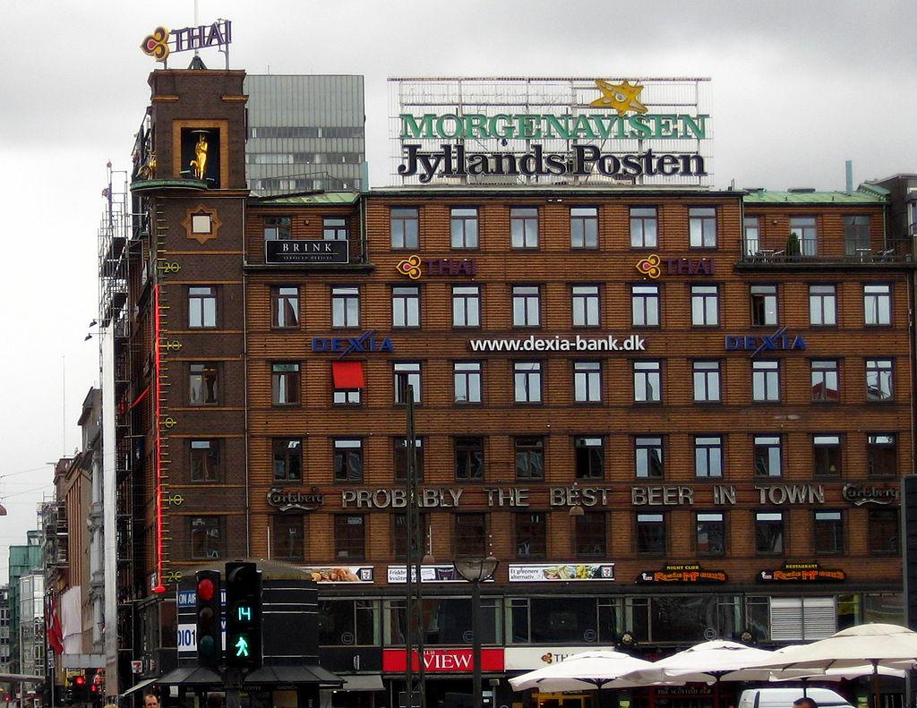 Aucun dessin de charlie hebdo dans le journal danois for Concevoir mon propre immeuble