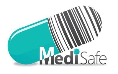 Logo de MediSafe (Crédit : Ariel Shore)