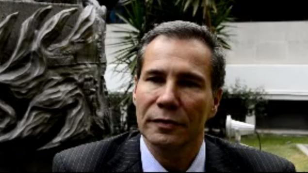 Alberto Nisman (Crédit : capture d'écran YouTube)