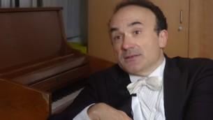 Frédéric Chaslin (Crédit : capture d'écran YouTube)