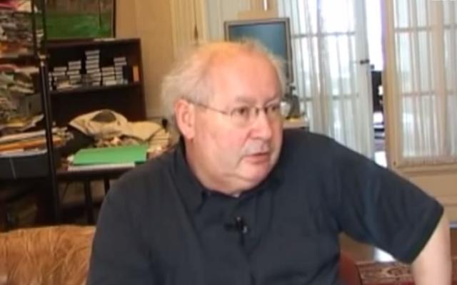 Serge Klarsfeld. (Capture d'écran YouTube)