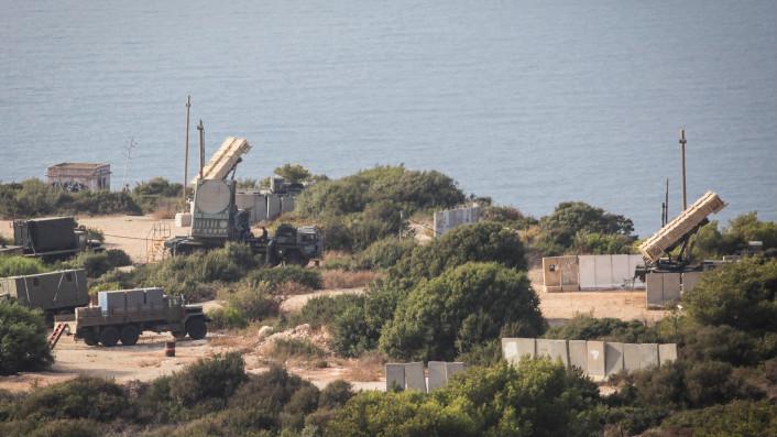 Une batterie Patriot sur les côtes de Haïfa le 29 août 2013 (Crédit :  Avishag Shaar Yashuv/ Flash 90)