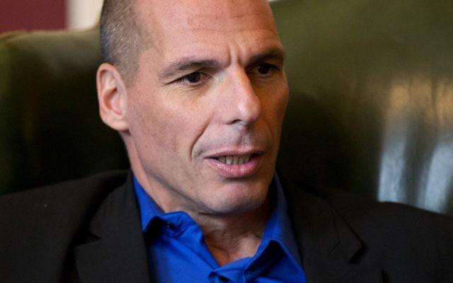 Yanis Varoufakis à Londres le 2 février 2015 (Crédit : MATT DUNHAM / POOL / AFP)